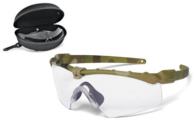 oakley si ballistic m frame 30 array with multicam frame and clear and gray lenses safety glasses usa
