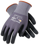 PIP G-Tek Maxiflex Ultimate, Black Micro-Foam Nitrile Palm & Finger Tips