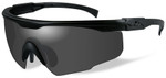 Wiley-X PT-1 Ballistic Sunglasses with Black Frame and Smoke Lens