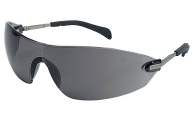 Crews Blackjack Elite Safety Glasses with Gray Lens