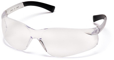 Pyramex Ztek Safety Glasses with Clear Anti-Fog Lens
