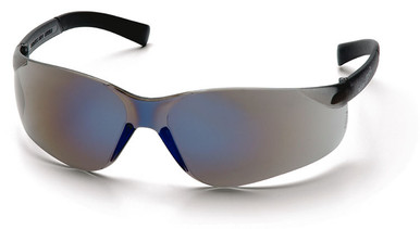 Pyramex Mini Ztek Safety Glasses with Blue Mirror Lens
