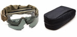 Smith Elite LoPro Regulator Tactical Goggle Kit with Tan-499 Frame and Clear and Gray Lenses