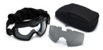 Smith Elite Outside The Wire Turbo Fan Field Kit with Black Frame and Clear and Gray Lenses