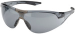 Elvex Avion SlimFit Safety Glasses with Black Temples and Gray Anti-Fog Lens