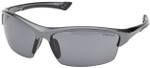 Elvex Sonoma Safety Glasses with Gunmetal Frame and Gray Lens