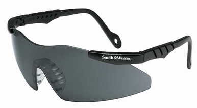 Smith & Wesson Magnum Safety Glasses with Smoke Lens