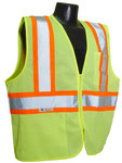 Radians SV22-2Z Class 2 Economy Mesh Hi-Viz Green Safety Vest