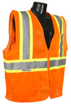 Radians SV22-2Z Class 2 Economy Mesh Hi-Viz Orange Safety Vest