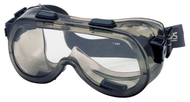 Crews Verdict Indirect Vent Safety Goggle with Clear Anti-Fog Lens