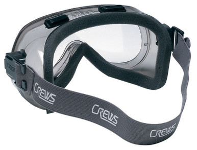 Crews Verdict Indirect Vent Safety Goggle with Foam Lining and Clear Lens