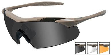 safety sunglasses  Wiley X Vapor Safety Sunglasses with Matte Tan Frame and Grey ...