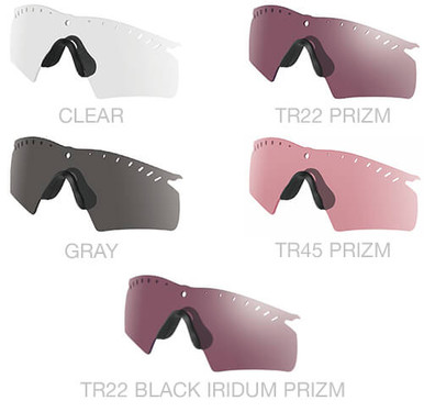 oakley si ballistic m frame 30 hybrid vented replacement lens
