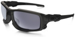 Oakley SI Ballistic Shocktube with Matte Black Frame and Grey Lens