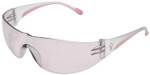 Bouton/PIP Eva Women's Safety Glasses with Pink Temple Trim and Pink #1 Lens