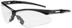 Bouton Anser Safety Glasses with Black Frame and Clear Anti-Fog Lens