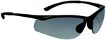 Bolle Contour Safety Glasses with Gunmetal Frame and Smoke Anti-Scratch and Anti-Fog Lenses