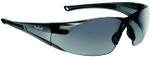 Bolle Rush Safety Glasses with Smoke Anti-Scratch and Anti-Fog Lens