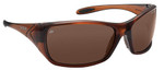 Bolle Voodoo Safety Sunglasses with Brown Frame and Brown Polarized Lens