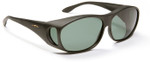 Haven Meridian OTG Sunglasses with Black Frame and Gray Polarized Lens