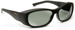 Haven Solana OTG Sunglasses with Gloss Black Frame and Gray Polarized Lens