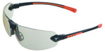Encon Veratti 429 Safety Glasses with Orange Temple Accent and Indoor/Outdoor Lens