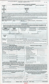 Consumer credit contract security agreement lowes inc for Retail installment contract motor vehicle