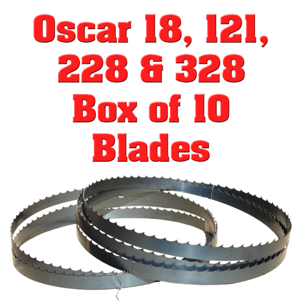 Band saw blades for Hudson 18