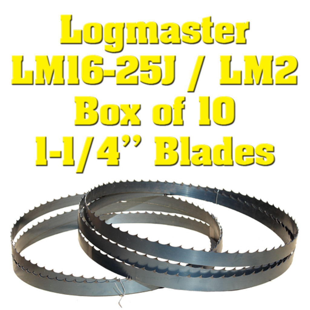 Band saw blades for Logmaster LM16