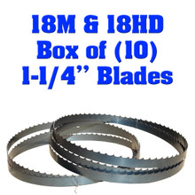 Box of 10 Blades for Baker 18M & 18HD