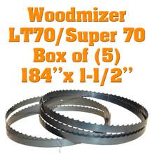 Bandsaw blades for Woodmizer LT70