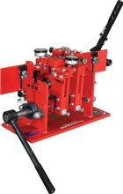 Dual tooth setter for setting the teeth on bandsaw blades