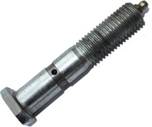 Mega Zerk bolt for portable sawmill and resaw guide systems