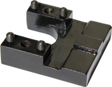 Mega bc jaw for portable sawmill roller guide systems