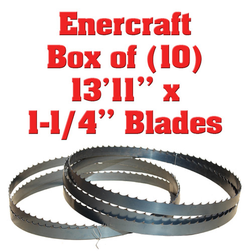 "Box of 10 Blades 13'11"" x 1-1/4"" Enercraft"