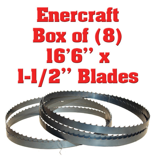 Band saw blades for Enercraft sawmills