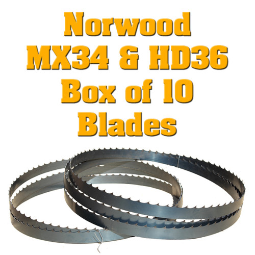 Norwood band saw blades