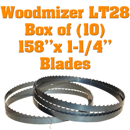 Band saw blades for Woodmizer LT28