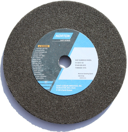 Black Grind Rock for use on the Cooks bandsaw blade sharpener