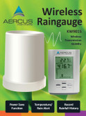 Aercus Instruments™ - Wireless Professional Rain Gauge with In/Out Temperature