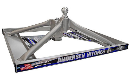 Andersen 3221 Ultimate 5th wheel to Goose- Neck hitch for Flatbed