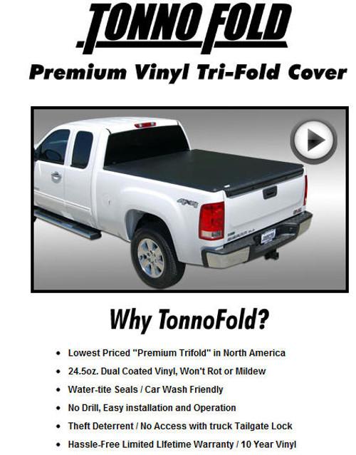 Tonno Fold Folding Tonneau Covers