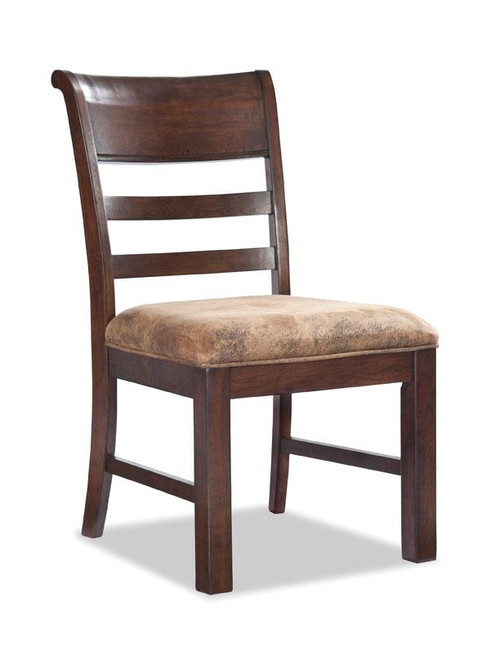 ... Solid Oak Rustic Canyon Dining Table With 4 Chairs ...