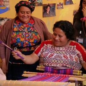 Fair Anita believes in the work provided through fair trade women's cooperatives. These cooperatives help to preserve a generations-old tradition of woven textiles while providing economic opportunity for women in Guatemala.