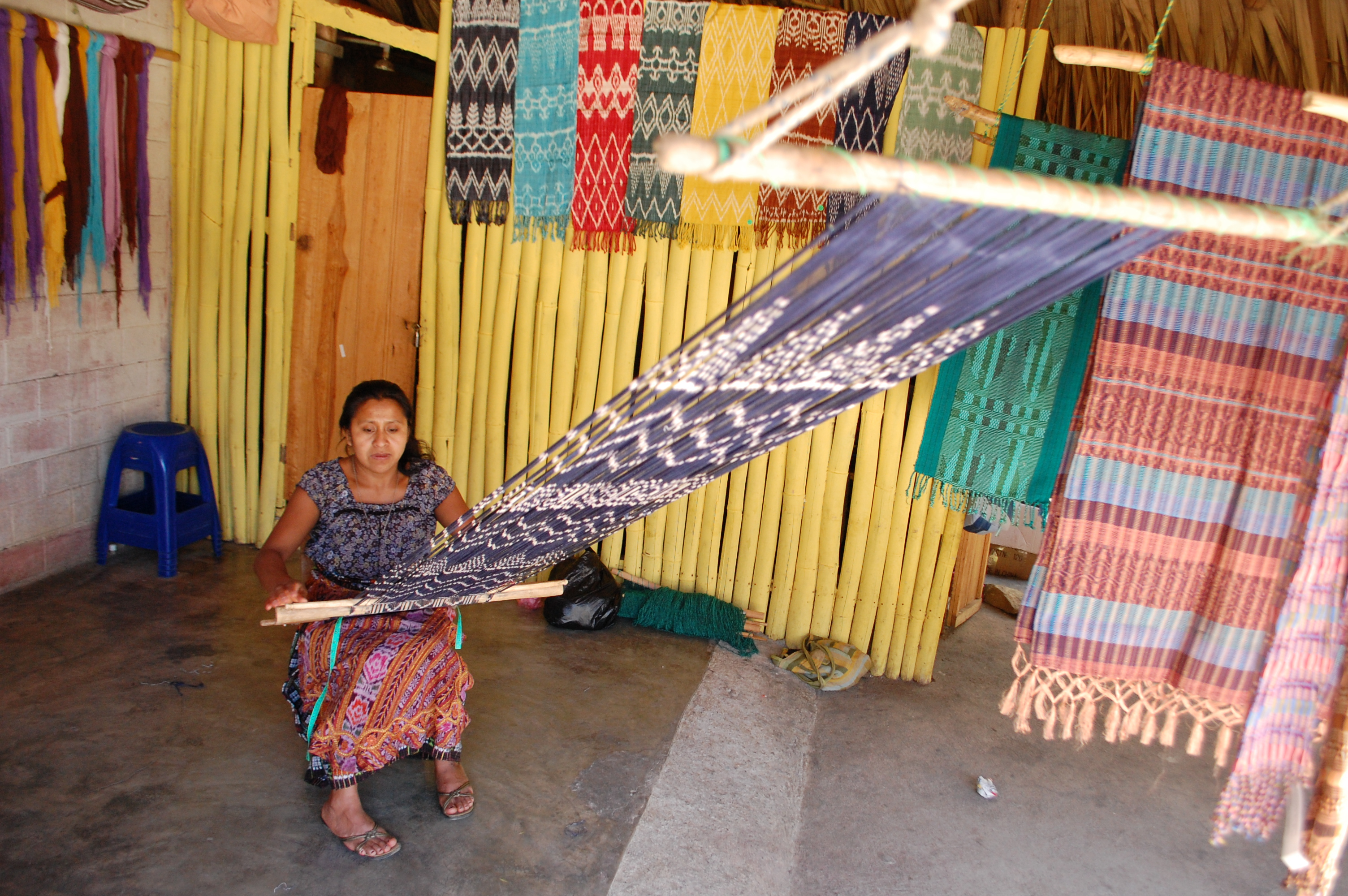 Fair Anita's beautiful woven textiles are created for you by a fair trade women's cooperative in San Juan, Guatemala.