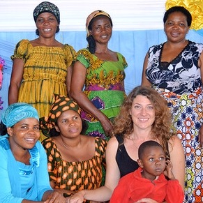 Fair Anita partners with Mamafrica to work with women in the DRC, one of the most difficult countries to export from, but also one with the greatest need for fair trade jobs.