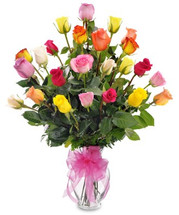 CLASSIC COLORFUL 36 ROSES