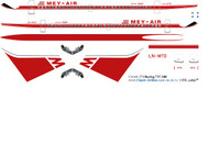 1/144 Scale Decal Mey-Air 737-200