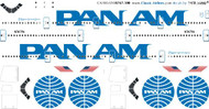 1/200 Scale Decal Pan Am 747-100 Billboard