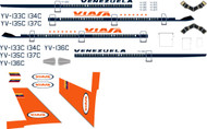 1/200 Scale Decal Viasa DC-10